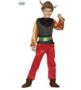 Onoverwinnelijke Gallische Krijger Jongen Kostuum