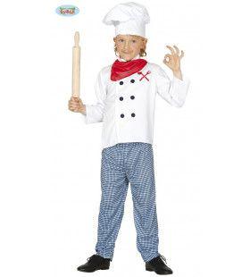 Eet Smakelijk Kok Jongen Kostuum