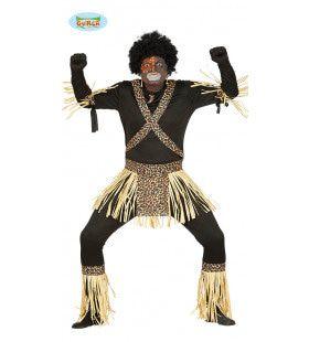 Zuid-Afrikaanse Zulu Man Kostuum