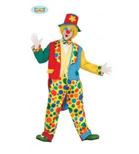 Popov De Clown Man Kostuum