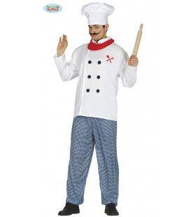 Le Chef Bon Appetite Man Kostuum