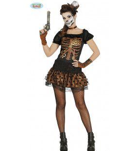 Moertje Los Skelet Vrouw Kostuum