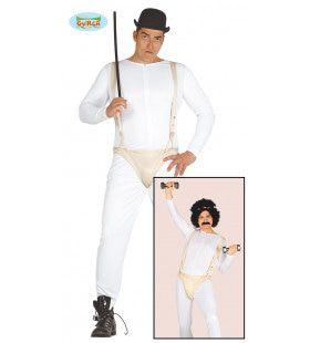 Borat Slip Theater Man Kostuum
