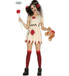 Prikkelende Pin Pop Vrouw Kostuum