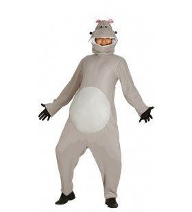 Hippo Nijlpaard Jumpsuit Kostuum