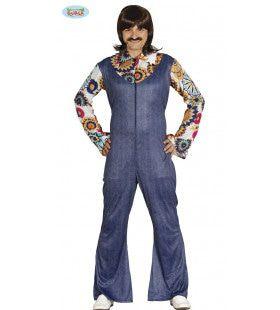 All Night Long Disco Eighties Man Kostuum