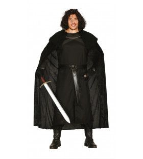 Poortwachter Uit De Middeleeuwen Man Kostuum