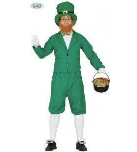 Ierse Leprechaun Kabouter Man Kostuum