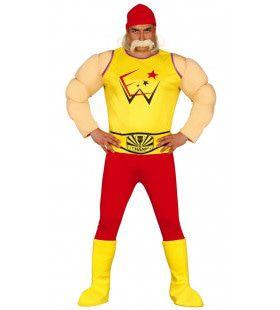 Wwe Wrestling Hulk Hogan Man Kostuum