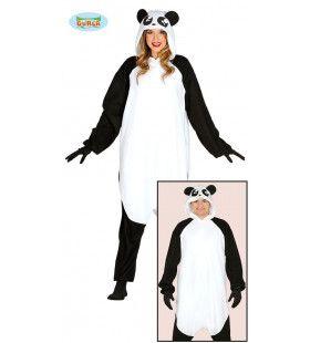 Aai Deze Panda Jumpsuit Vrouw Kostuum