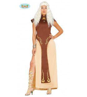 Dragon Queen Vrouw Kostuum