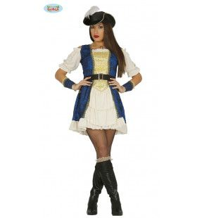 Kapitein Betty Bakboord Vrouw Kostuum
