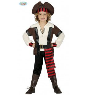 Duinkerken Piratennest Jongen Kostuum