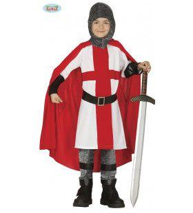 Onoverwinnelijke Ridder Rudolf Jongen Kostuum