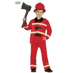 Brandweerman Zonder Angst Jongen Kostuum