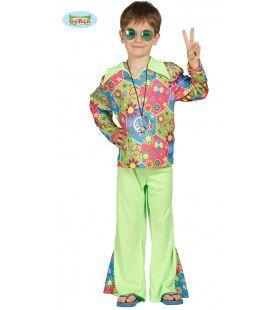 Relaxte Hippie Jongen Kostuum