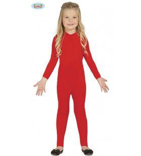Zie Mij Eens Dansen Rood Ballet Kostuum