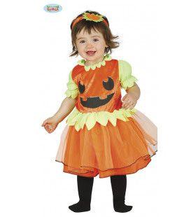 Pompoen Prinsesje Halloween Meisje Kostuum