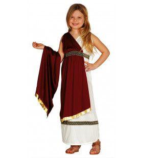 Romeinse Dame Pompei Meisje Kostuum