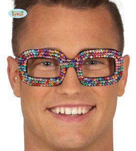 Multicolor Bril Popster