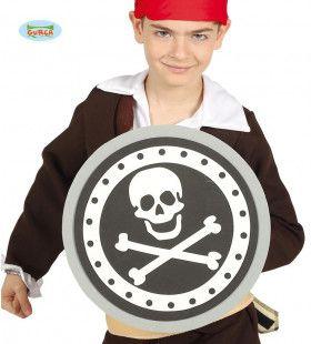 Schild Piraat Woeste Golfslag 29 Centimeter