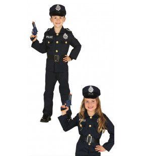 Pientere Politie Agent Kostuum