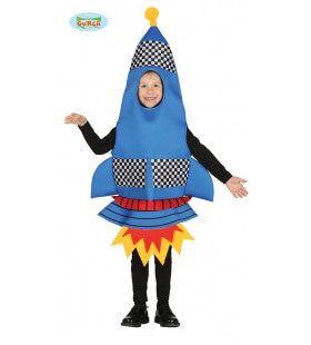 Pijlsnelle Raket Jongen Kostuum