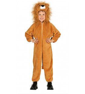Leeuw Met Volle Manen Kostuum
