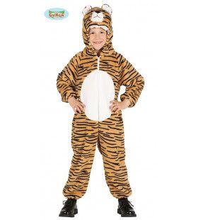 Aziatische Jungle Tijger Kostuum