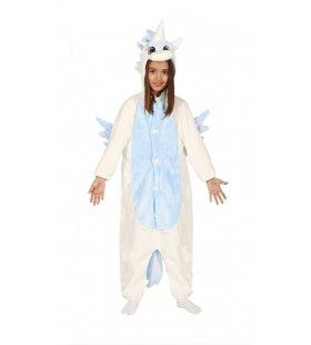 Eenhoorn Pyjama Blauw Kostuum