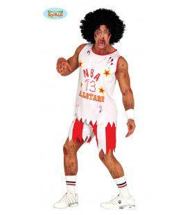 Dodelijke Dunks Basketball Speler Man Kostuum