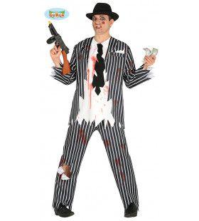Al Creepone Gangster Man Kostuum