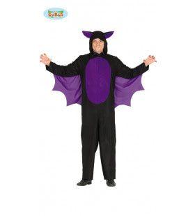 Paarsvleugel Vleermuis Man Kostuum