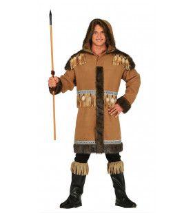 Newfoundland Eskimo Man Kostuum
