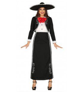 Maria Mariachi Vrouw Kostuum