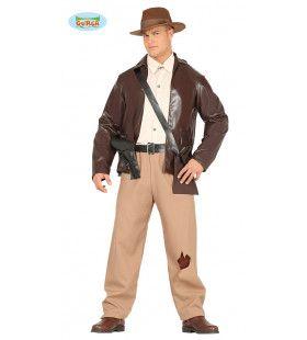 Harrison De Avonturier Man Kostuum