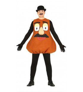 Aardappel Hoofd Man Kostuum