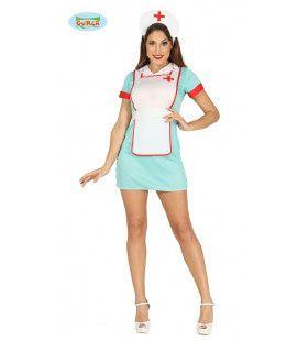 Miss Ondersteek Verpleegster Vrouw Kostuum