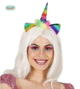 Haarband Eenhoorn Regenboog
