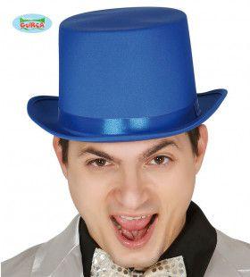 Hoge Hoed Musical Danser Blauw