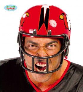 American Football Helm Bald Eagle Rood