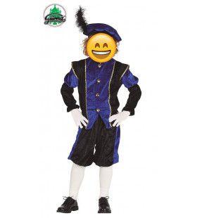 Roetveeg Piet Blauw Kind Kostuum
