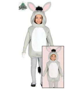 Grijze Ezel Kind Kostuum