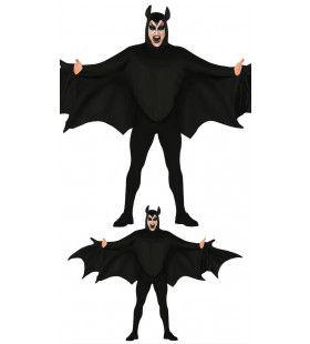 Hongerige Duistere Vleermuis Man Kostuum