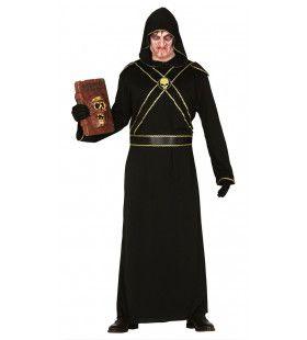 Klooster Van De Hel Monnik Man Kostuum