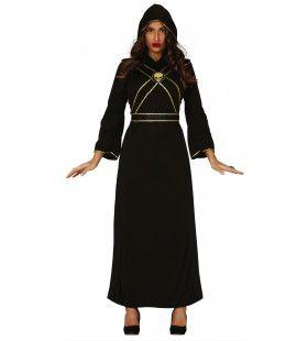 Klooster Van De Hel Non Vrouw Kostuum