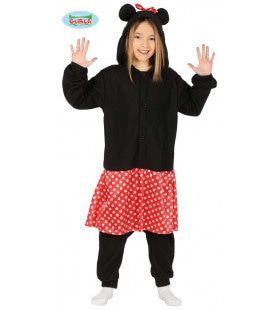 Blije Disney Muis Minnie Meisje Kostuum