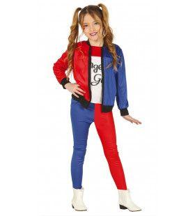 Dangerous Girl Rocker Meisje Kostuum