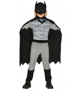 Sterk Als Staal Batman Jongen Kostuum