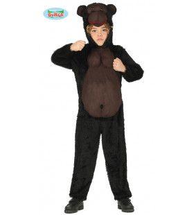 Brede Borstkas Gorilla Congo Kostuum